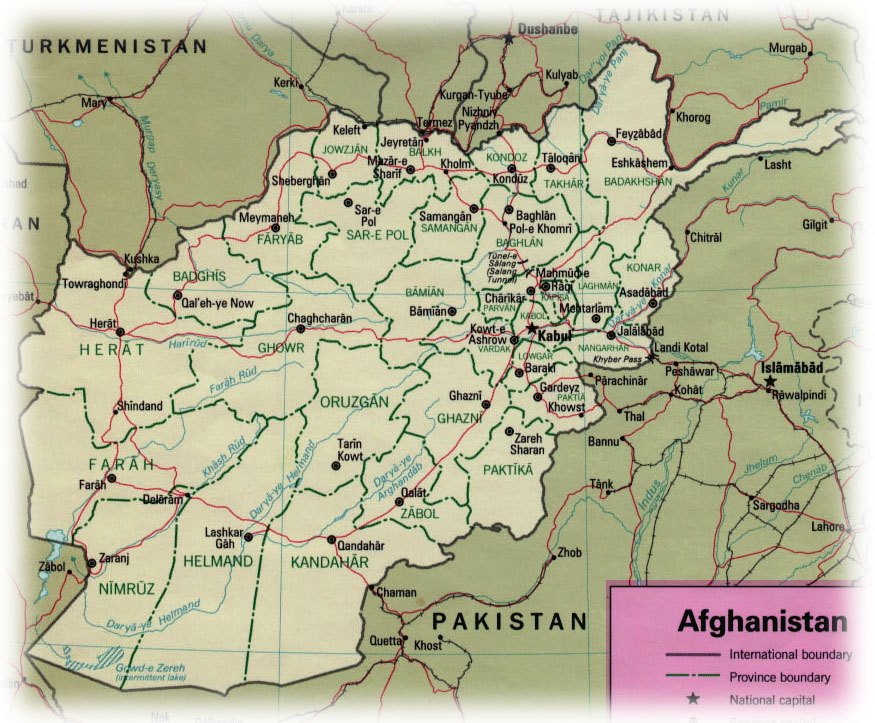 Tour Operator in Afghanistan