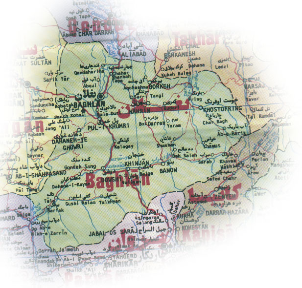 Get Local Baghlan map